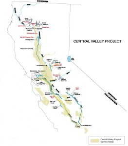 Central Valley Project, USBR