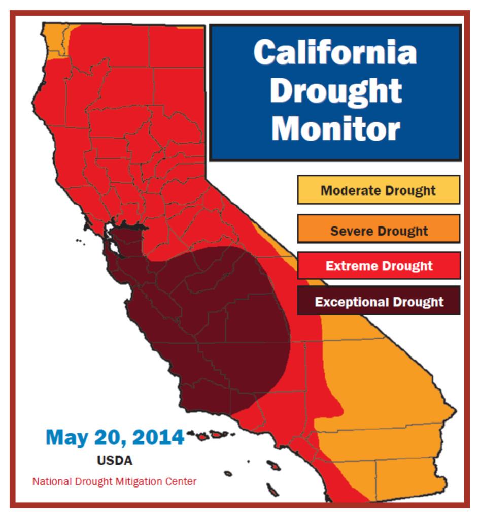 CaliforniaDroughtFriantArea