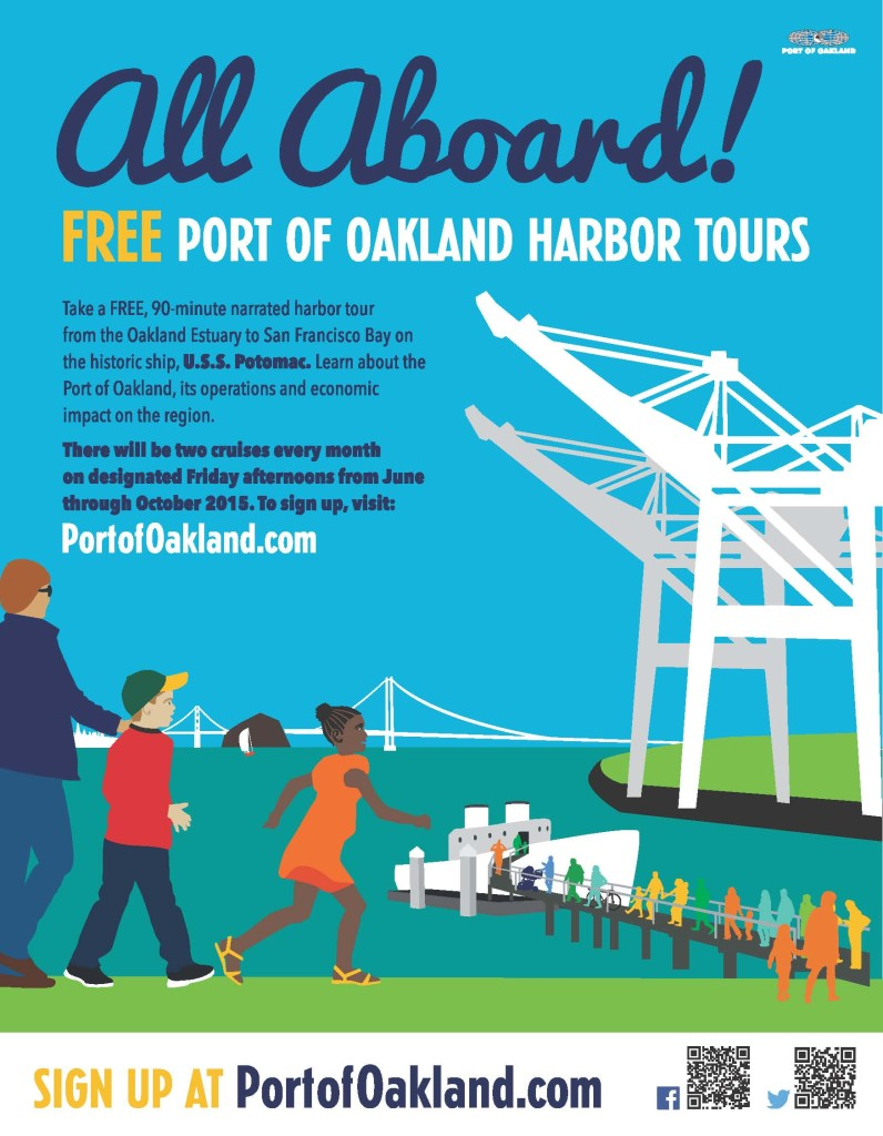 Port of Oakland Harbor Tours