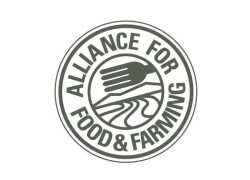 Alliance for Food and Farming logo