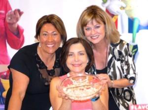 From Left, Sanya Jones, Cheryl Forberg and Judy Hirigoyen, APG
