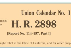 H.R. 2898 Western Water and American Food Security Act of 2015