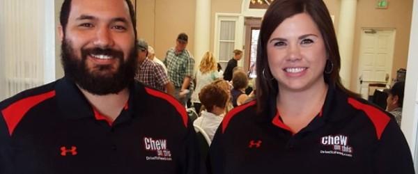 Kyle Olguin and Sarah Weber