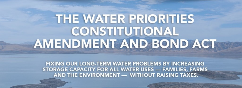 The Water Priorities Constitutional Amendment and Bond Act (Source: California Water 4 All, CalWA)