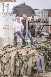 Todd and Heather Carpenter, of Landfill Dzine