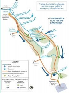 USBR Temperance Flat Dam and Reservoir