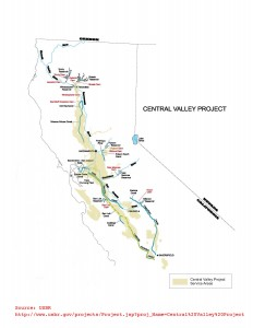 Central Valley Project USBR