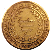 AAEES logo Leadership and Excellence in Environmental Engineering and Science