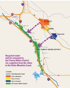 NVRRWP map recycled water