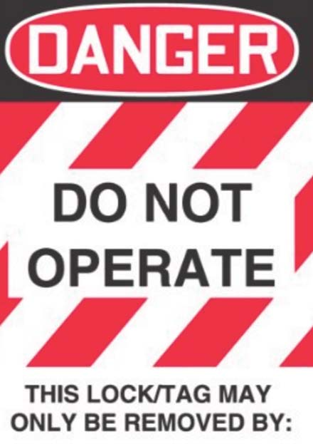 lockout tagout agsafe safety