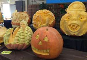 Pumpkin Carvings by Russ Leno