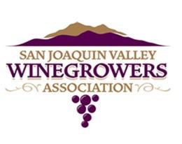 SAN Joaquin Valley  Winegrowers Association, (sjvwa) logo