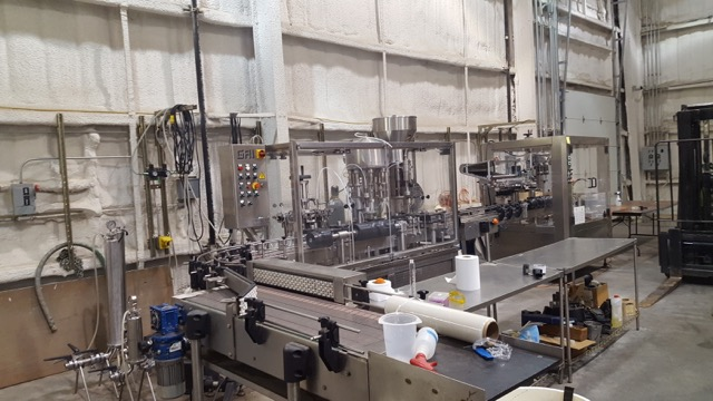 Fresno State Winery Bottling Line