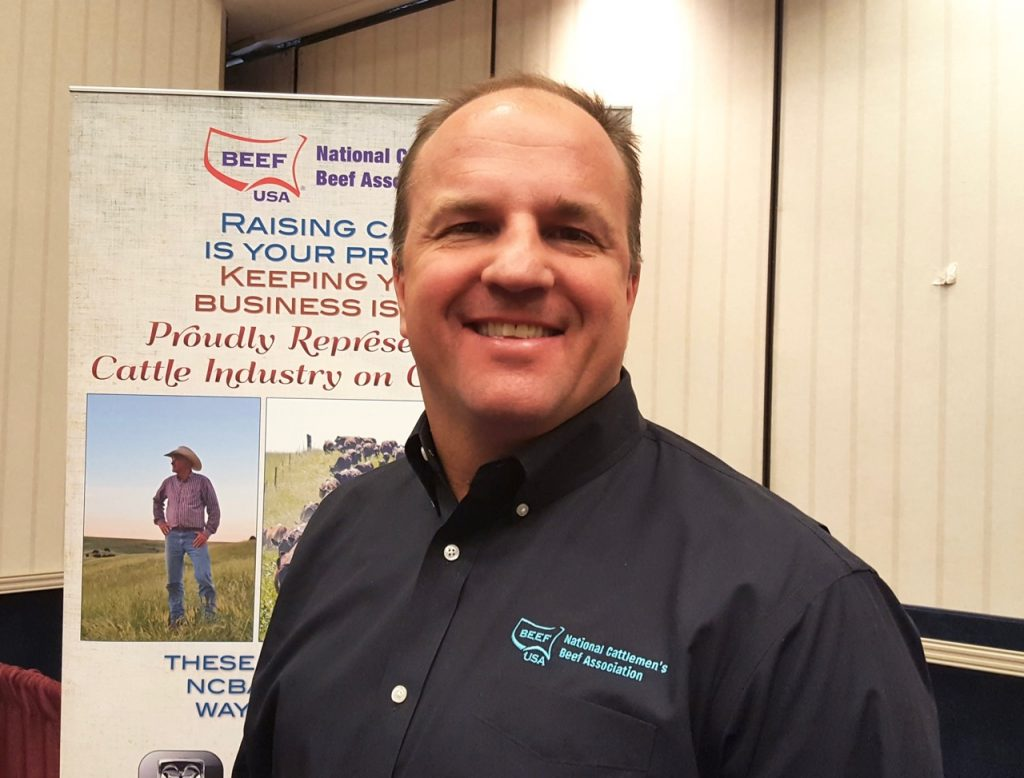 Marvin Kokes, senior vice president, Industry & Member Services, National Cattlemen's Beef Association