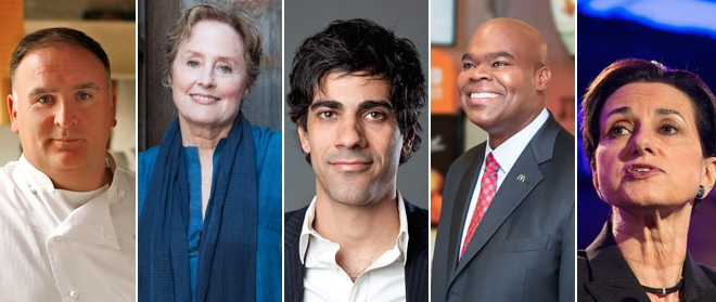 50 Most Powerful People in 2014 Food World
