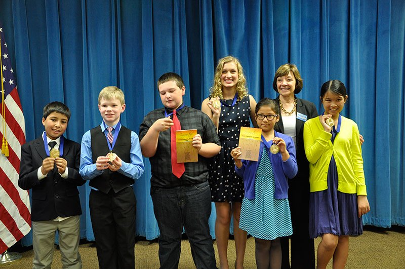 CALIFORNIA STUDENTS RECOGNIZED FOR STATE-WINNING STORIES