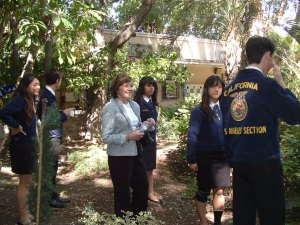 North Hollywood High School Ag Students Keep Tradition Alive and Will Make Future Bright