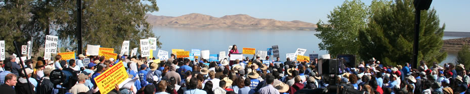 Friday's 'Fight for Water II' Media Day will Include News Conference on Valley Crisis