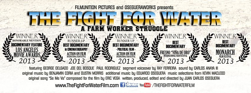 "Documentary Film ""The Fight for Water"" premieres May 16 On Demand and at the Film's Website"