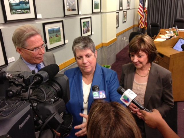 UC President Janet Napolitano Presents Food Initiative Plan to CDFA
