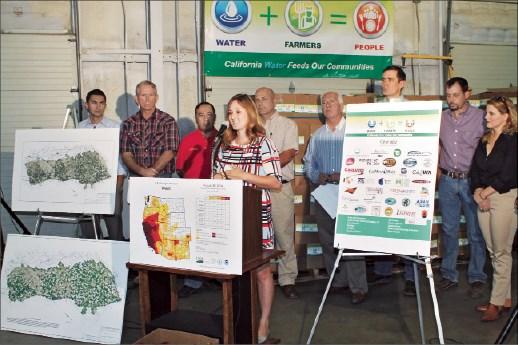 Food donations underscore drought impact