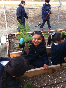 Northern California elementary school students to visit White House Garden