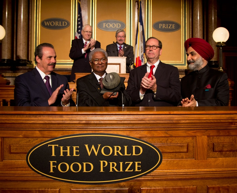 World Food Prize Awarded to Prestigious Wheat Scientist