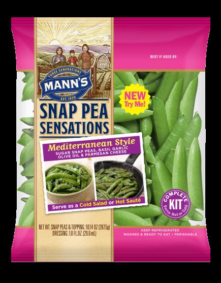 Mann's Snap Pea Sensations Kits Wins Award