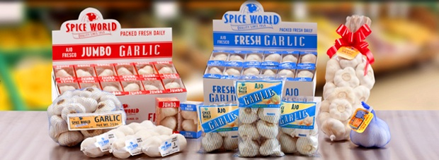 Spice World Garlic is Largest Domestic Grower/Supplier