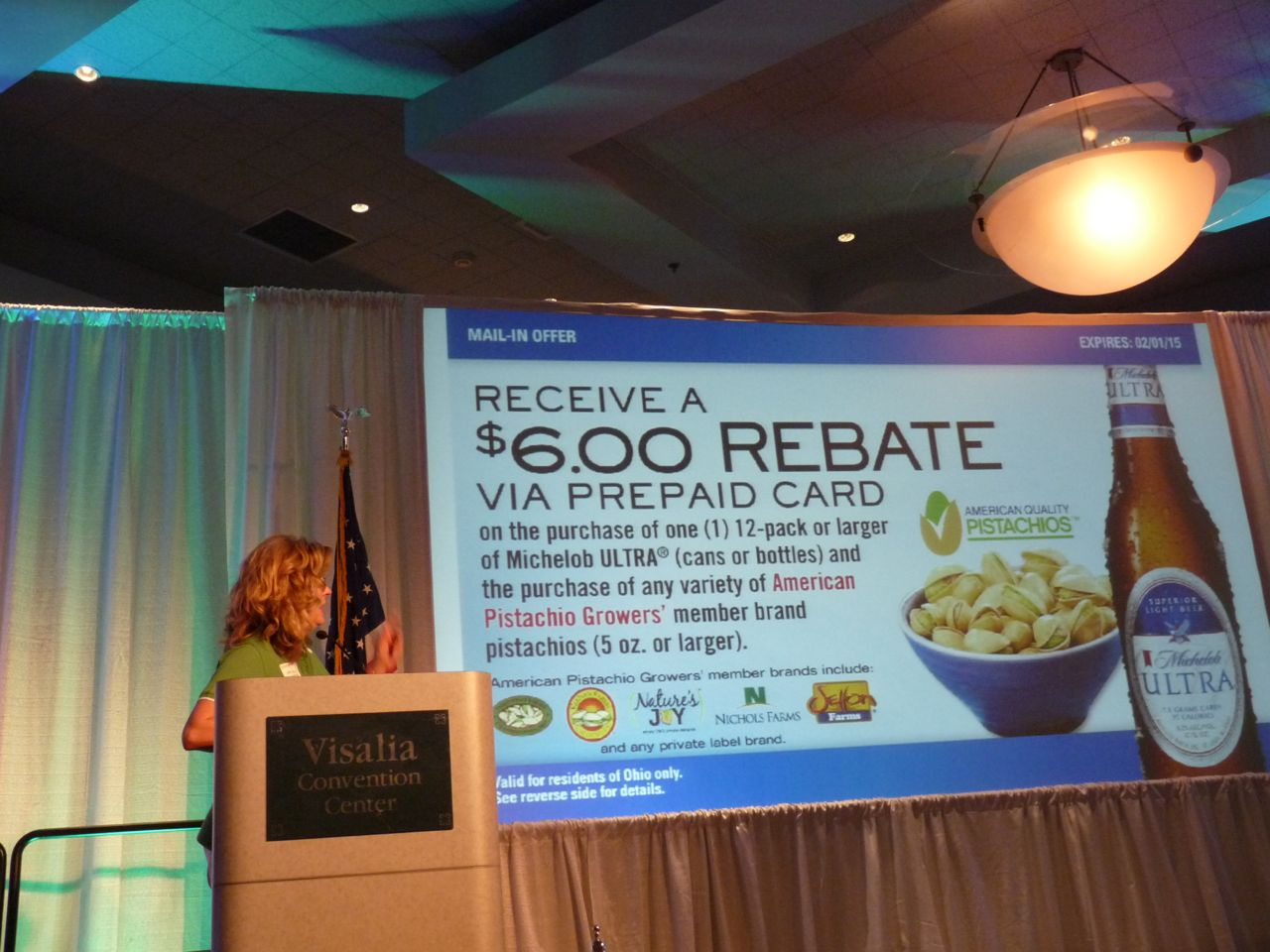 American Pistachio Growers Pair with Anheuser-Busch and Michelob ULTRA Beer