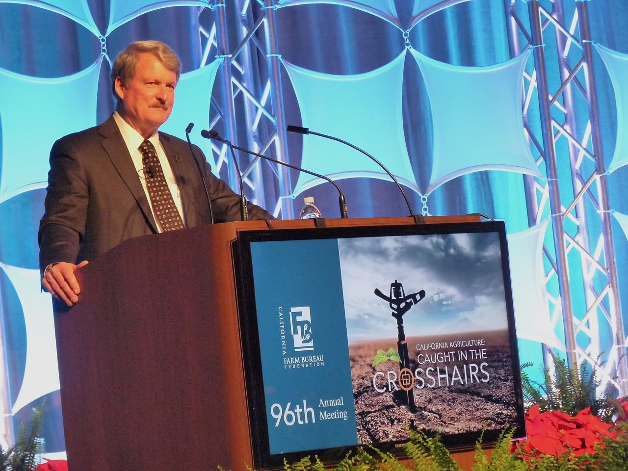 California Farm Bureau's Paul Wenger Addresses 96th Annual Meeting
