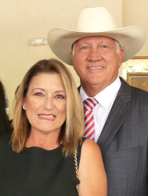 Gloria and Joe Del Bosque