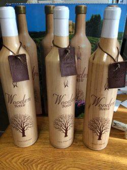 Wooden Bottle Wine Co.'s 2009 Pinot Noir wooden bottle