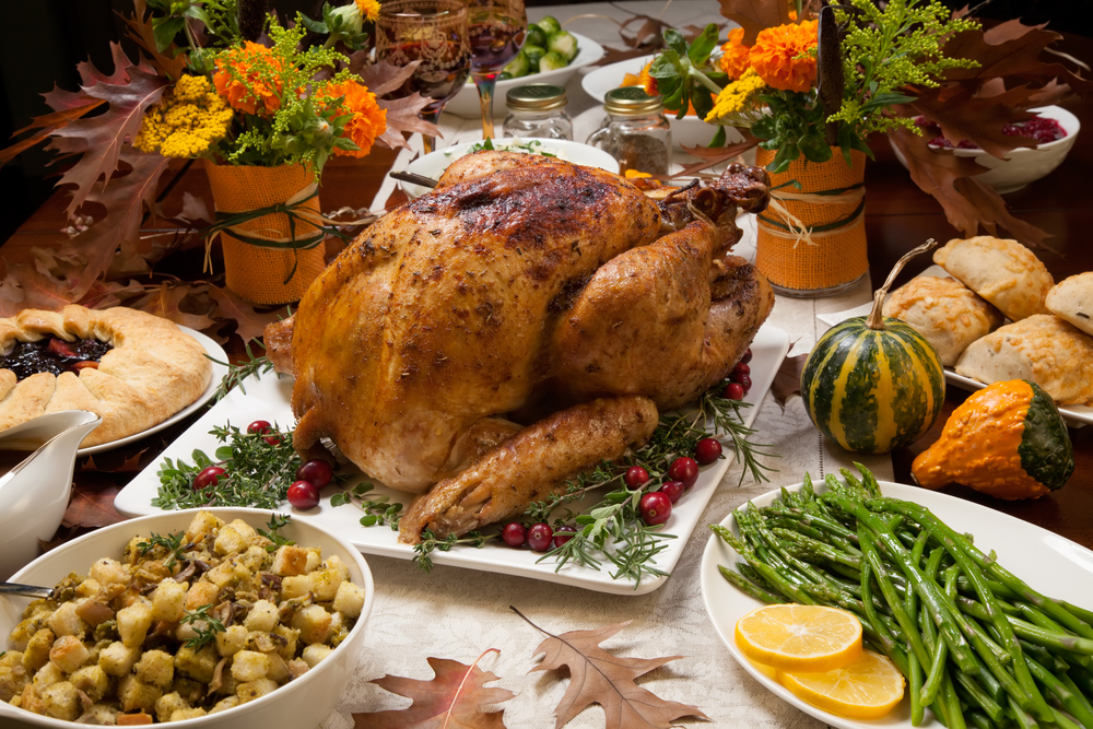 Thanksgiving Feast from California
