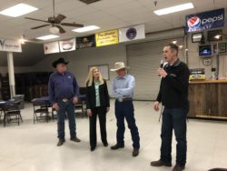 Retirement Reception Honors Ag Commissioners Les and Marilyn Wright