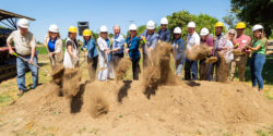 New Location for Center for Land-Based Learning Breaks Ground