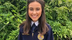CA FFA Treasurer Reese Gonsalves Promotes Careers in Ag